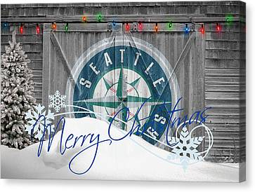 Seattle Mariners Canvas Print by Joe Hamilton