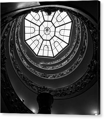The Vatican Stairs Canvas Print by Jouko Lehto
