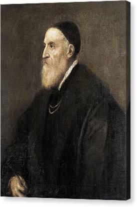 Ttitia, Tiziano Vecello, Also Called Canvas Print by Everett