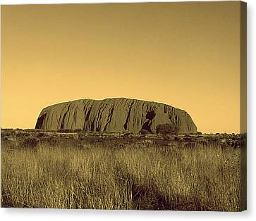 Uluru Canvas Print by Girish J