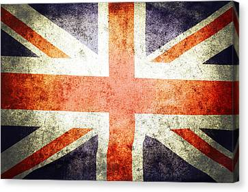 Celebrating Freedom Canvas Print - Union Jack  by Les Cunliffe