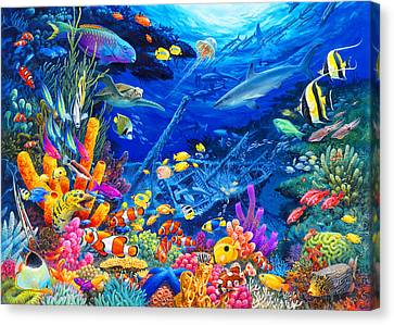 Undersea Wonders Canvas Print