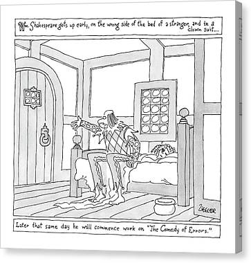 New Yorker March 26th, 2007 Canvas Print