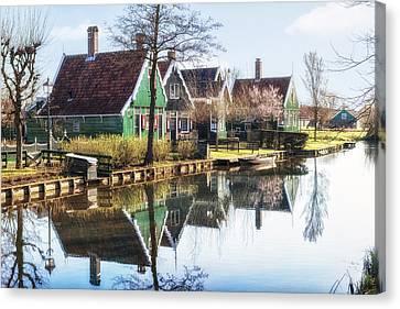 Zaanse Schans Canvas Print