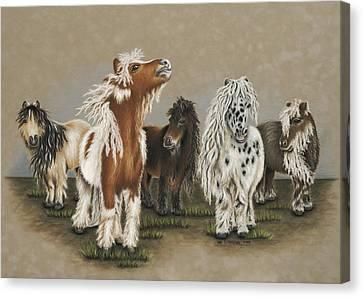 80's Hair Band Canvas Print