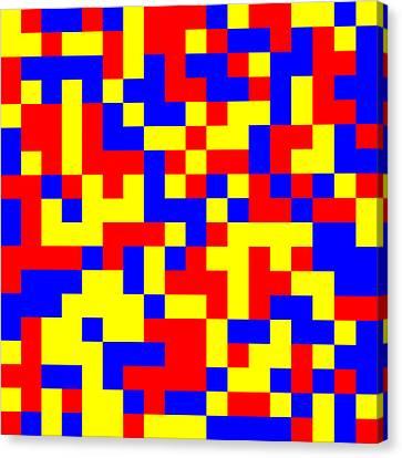 81.2.11 Canvas Print by Gareth Lewis