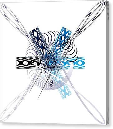 Abstract Canvas Print by Bogdan Floridana Oana
