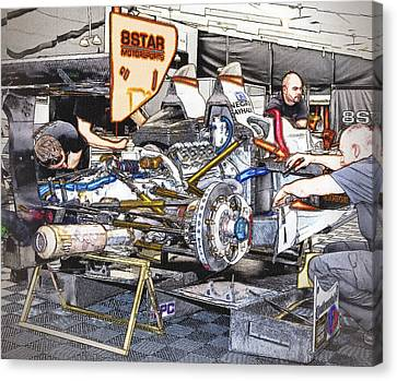 8star Motorsports Canvas Print