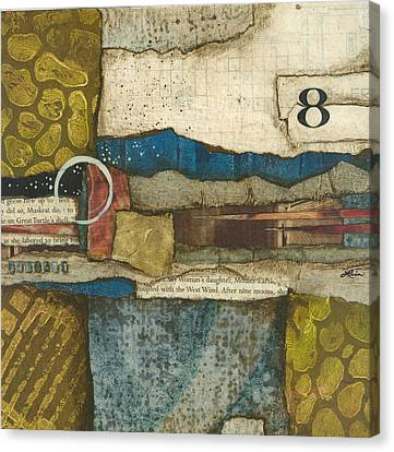 8th Before The Nineth Moon Canvas Print by Laura  Lein-Svencner