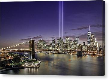 9-11-14 Canvas Print by Anthony Fields
