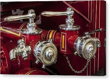 1915 Lafrance Fire Engine  Canvas Print by Rich Franco