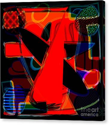 Abstract Art Collection Canvas Print by Marvin Blaine