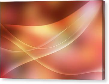 Abstract  Canvas Print by Les Cunliffe