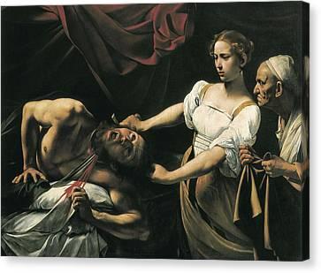 Caravaggio, Michelangelo Merisi Da Canvas Print by Everett