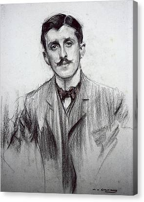 Casas I Carbo, Ram�n 1866-1932 Canvas Print by Everett