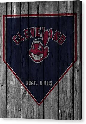 Cleveland Indians Canvas Print by Joe Hamilton
