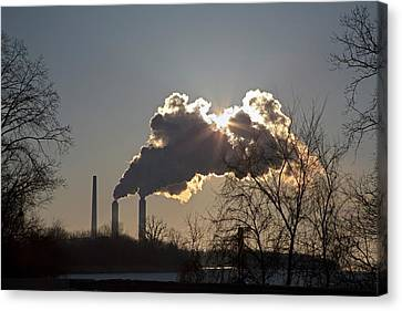 Coal-fired Power Station Canvas Print