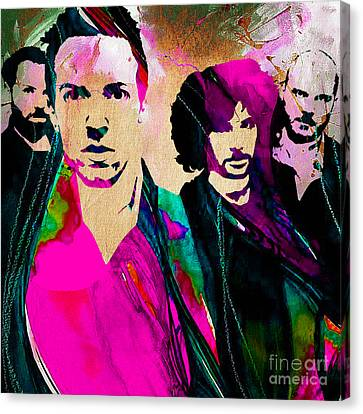Coldplay Collection Canvas Print