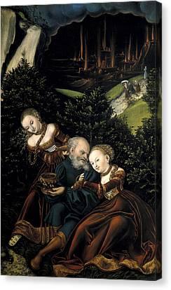 The Sacred Feminine Canvas Print - Cranach, Lucas, The Elder 1472-1553 by Everett