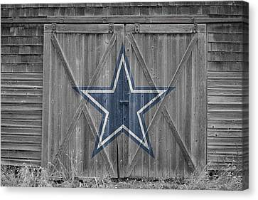 Dallas Canvas Print - Dallas Cowboys by Joe Hamilton