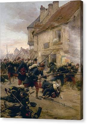 Franco-prussian War, 1870 Canvas Print by Granger