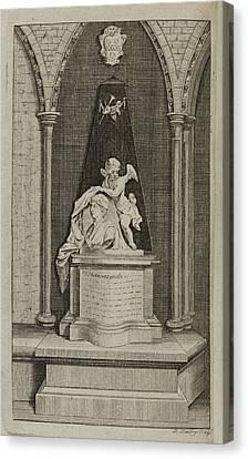 Illustration Of Sculpture Canvas Print