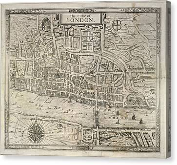 London Canvas Print by British Library