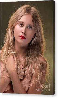 Luxury Young Woman  Canvas Print by Aleksey Tugolukov