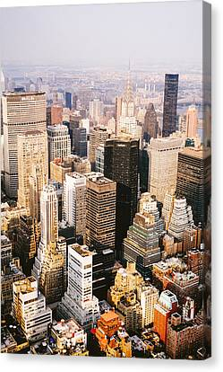 New York City Canvas Print by Vivienne Gucwa