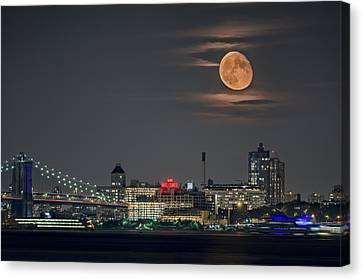 9 O'clock Canvas Print