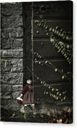 Old Doll Canvas Print by Joana Kruse