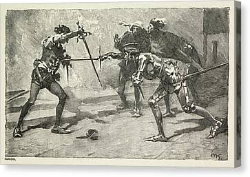 Munitions Canvas Print - Othello. The Moor Of Venice by British Library