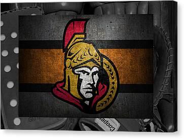 Ottawa Canvas Print - Ottawa Senators by Joe Hamilton