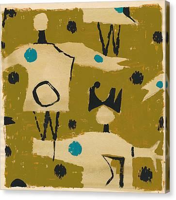 Petra James, Contemporary Modern Artist Canvas Print