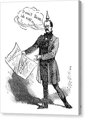 Prince Otto Von Bismarck  Canvas Print by Granger