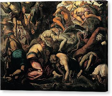Robusti Jacopo Known As Tintoretto, The Canvas Print