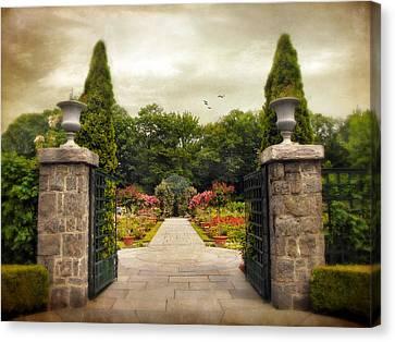 Rose Garden Canvas Print by Jessica Jenney