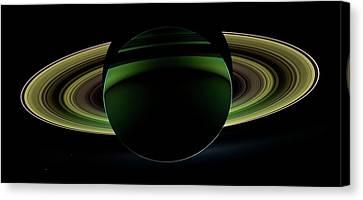 Saturn Canvas Print by Nasa