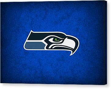 Seattle Seahawks Canvas Print by Joe Hamilton