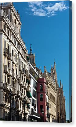 Spain, Andalucia Region, Seville Canvas Print by Walter Bibikow