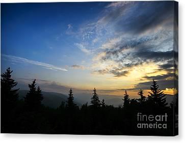 Summer Solstice Sunrise Canvas Print by Thomas R Fletcher
