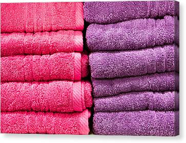 Towels Canvas Print by Tom Gowanlock