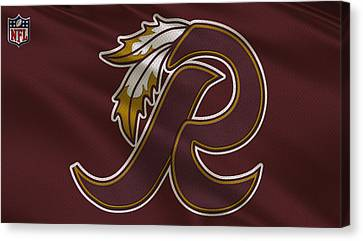 Washington Redskins Uniform Canvas Print