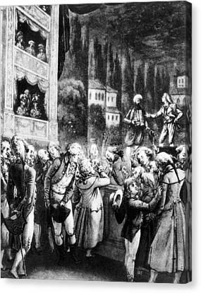 Wolfgang Amadeus Mozart (1756-1791) Canvas Print by Granger