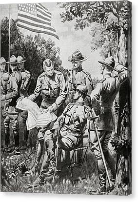 Ally Canvas Print - World War I (1914-1918 by Prisma Archivo