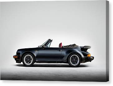911 Cabrio Canvas Print by Douglas Pittman