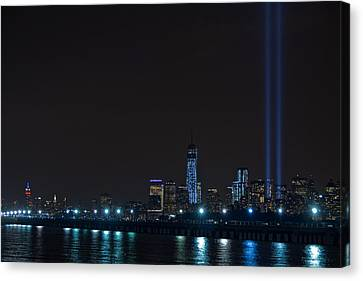 911 Tribute In Lights 2 Canvas Print