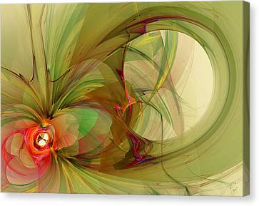 Generative Art Canvas Print - 912 by Lar Matre