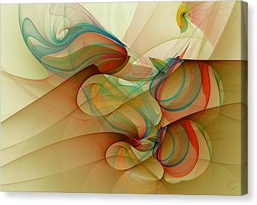 Generative Canvas Print - 927 by Lar Matre