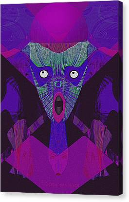 The Scream Canvas Print - 948 - The  Howling  ... by Irmgard Schoendorf Welch